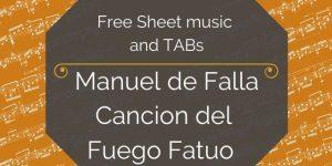 falla free guitar music