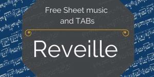 Reveille america free guitar