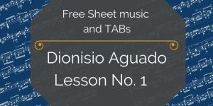 aguado guitar method pdf