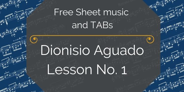 aguado guitar method pdf