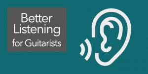 ear-training for classical guitar listening