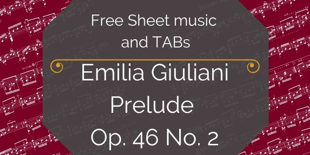 E Giuliani sheet music