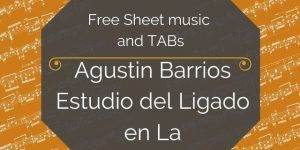 barrios legato guitar free