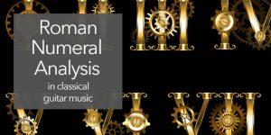 music harmony roman numerals