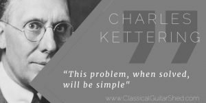 Charles Kettering Simple Problems guitar