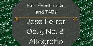ferrer free spanish guitar