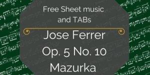 free Catalan guitar music