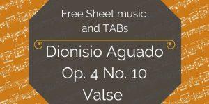 Aguado Free PDF guitar