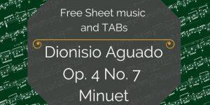 guitar sheet music tab