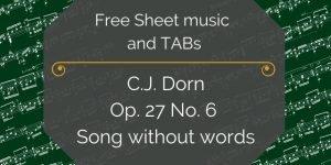 Dorn free music pdf
