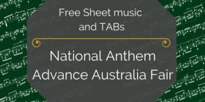 Austrailia free pdf music