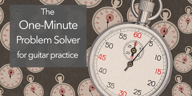 """Featured image for """"The One-Minute Problem-Solver Method for Polishing Guitar Music"""""""