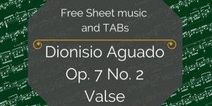 Aguado free guitar music