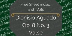 Aguado free pdf music