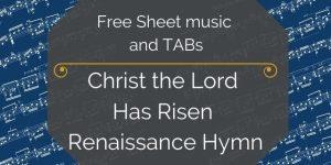 Renaissance PDF guitar download
