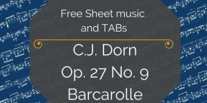 Free Dorn Guitar music