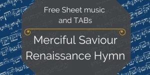 Renaissance guitar music pdf