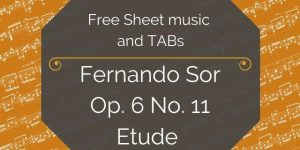 Sor guitar free download
