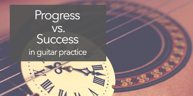 """Featured image for """"Progress vs. Success in Classical Guitar Practice"""""""