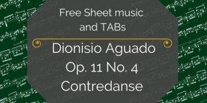 Aguado free classical guitar