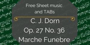 Dorn music for guitar