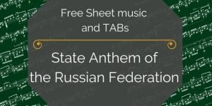 Russia anthem guitar pdf