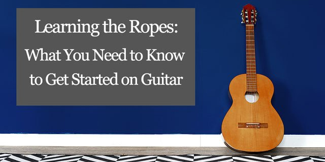 """Featured image for """"Classical Guitar 101: String Names, Finger Names and More"""""""