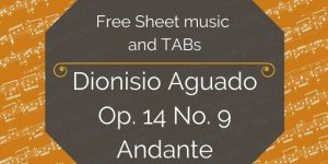 aguado free andante pdf