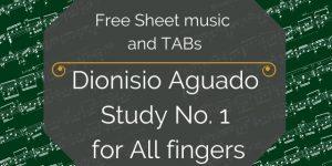 Aguado free guitar PDF