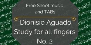 Aguado free music pdf