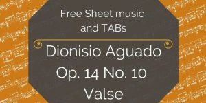 Aguado free download for guitar