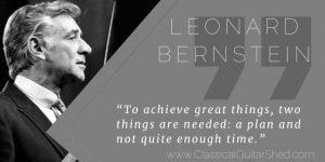 Bernstein on how to achieve practice