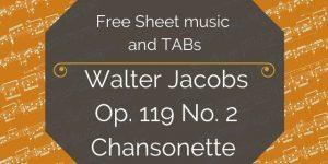 Jacobs free guitar music
