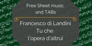 free renaissance music guitar