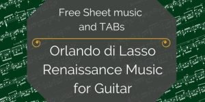 lasso free guitar pdf