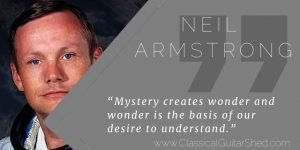 Neil Armstrong guitar mystery