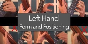 left hand guitar tips