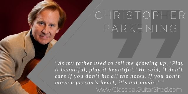 """Featured image for """"Christopher Parkening on Playing Music Beautifully (and missing notes)"""""""