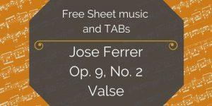 ferrer free guitar music