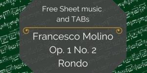 Molino free guitar pdf