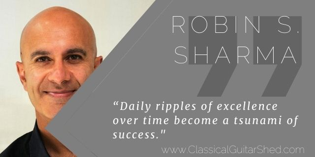"""Featured image for """"Robin Sharma on Excellence Over Time"""""""