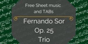 Sor free guitar music