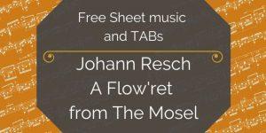 resch guitar music