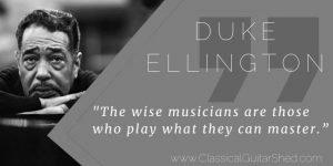 duke ellington on wise musicians