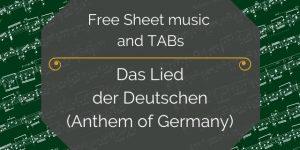 germany guitar music anthem