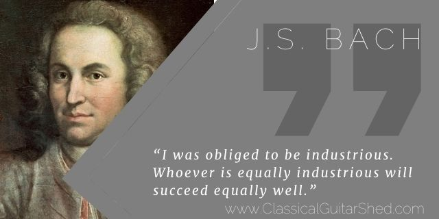 """Featured image for """"J.S. Bach on How to Succeed in Your Daily Practice"""""""