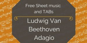 beethoven music for guitar