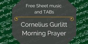 cornelius gurlitt morning prayer guitar