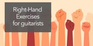 guitar exercises right hand