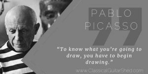 Pablo Picasso Tuesday Quote